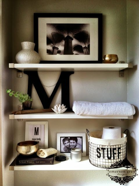 Featured image for Chic Bathroom Storage