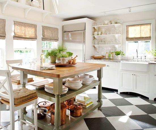 Home interior, kitchen