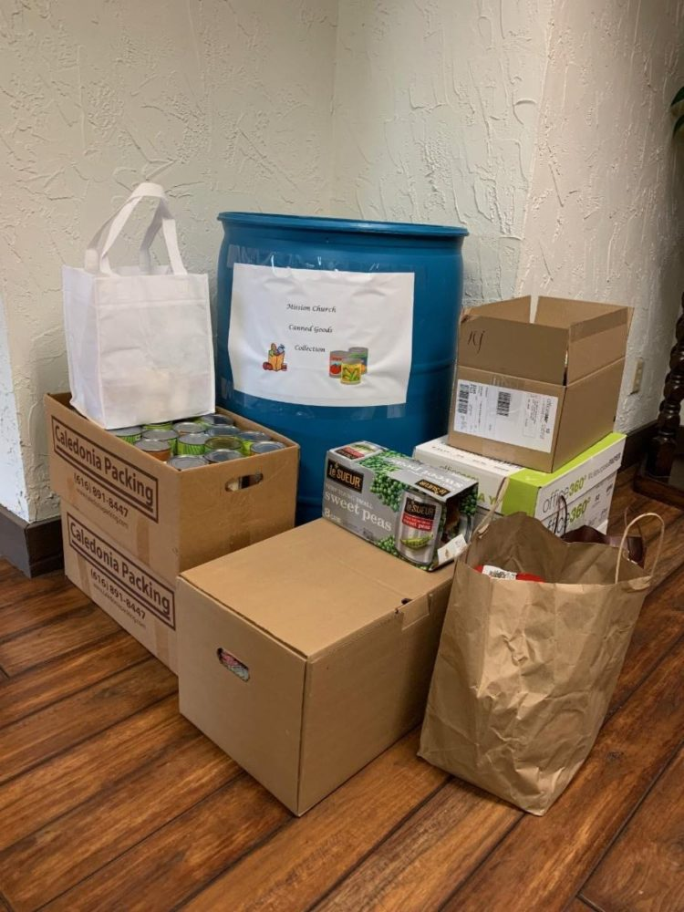 Featured image for North Eastern Group Collects Canned Goods for Mission Church