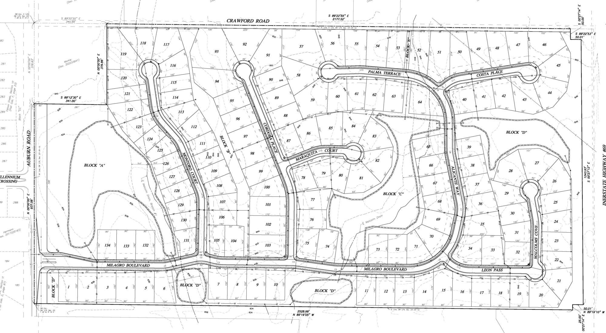 Milagro preliminary plans
