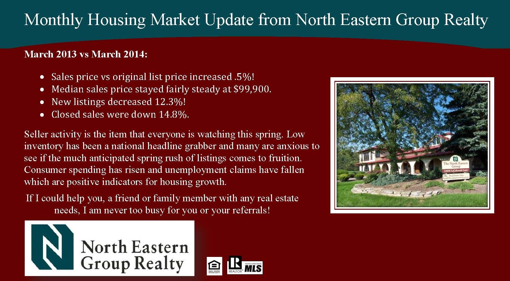 Monthly Market March 2014