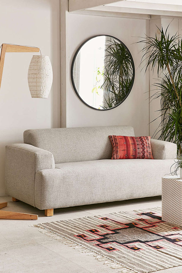 Featured image for Home Tips: 5 Gorgeous Gray Sofas Under $1000