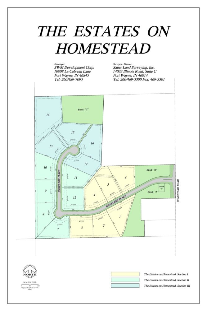 Featured image for 10 Sites Sold & 4 Homes Under Construction in The Estates on Homestead!