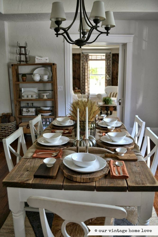 Featured image for Fall Table Decor