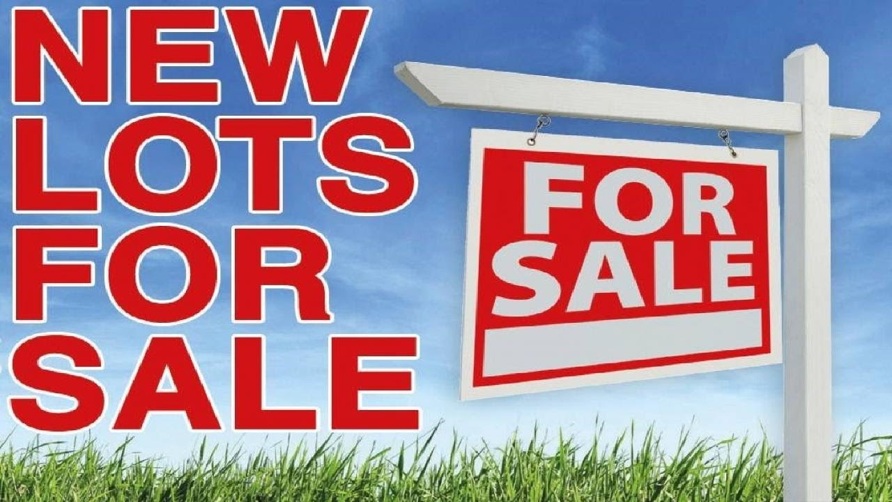New lots for sale