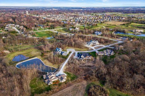 Estates on Homestead Bird's eye view