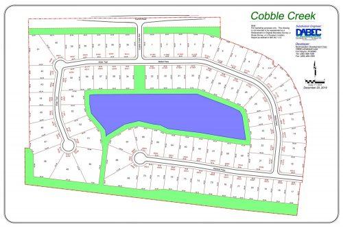 Cobble Creek Plat Map