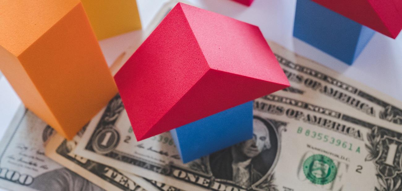 Money/house graphic