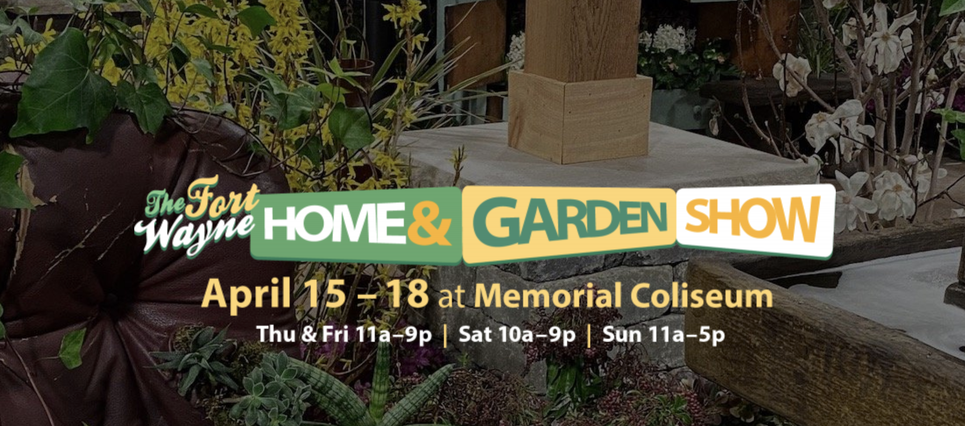 Fort Wayne Home and Garden Show logo.