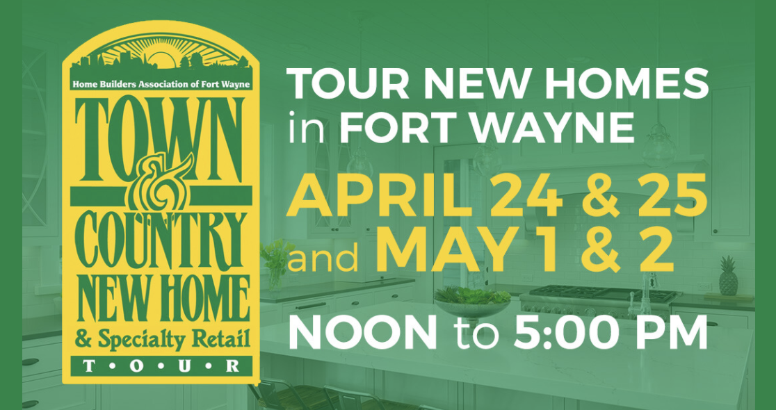 Town & country tour logo and dates.