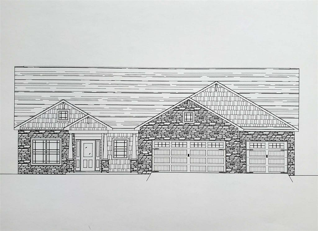 Architectural drawing of home.